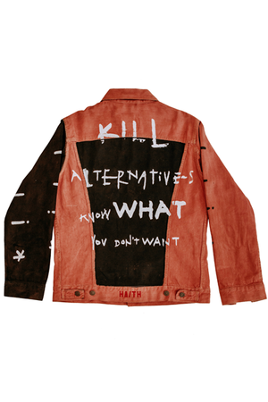 'KILL TWO' - CUSTOMISED DENIM JACKET