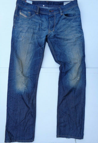 Diesel Larkee DNA dark blue indigo jeans regular straight 008Y3