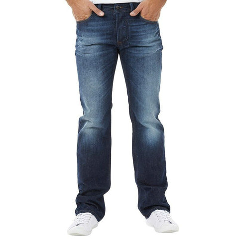 Diesel Larkee dark blue jeans mens regular straight 0823G