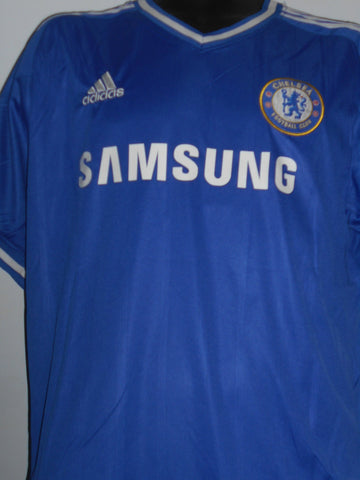Chelsea 2013-2014 home football shirt Medium Mens. HAZARD 17 MA18