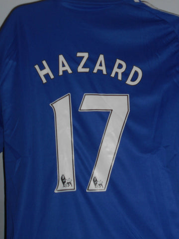 Chelsea 2013-2014 home football shirt Medium Mens. HAZARD 17 MA18-Classic Clothing Crib
