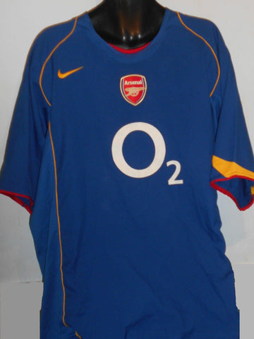 Arsenal 2004-2005 away football shirt 3XL Mens VIEIRA 4 MA241-Classic Clothing Crib