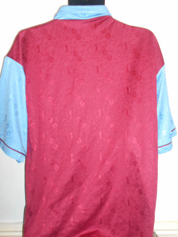 West Ham United Home Football Shirt (1995/1997) large men's MA245-Classic Clothing Crib
