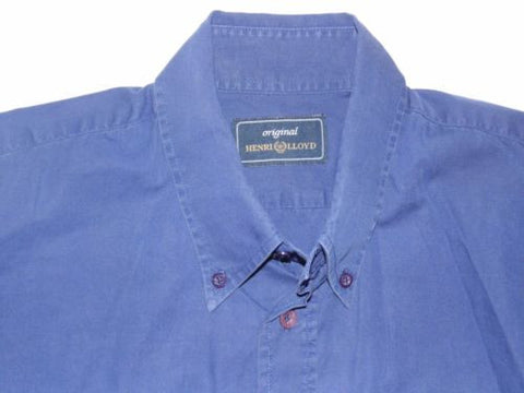 Henri Lloyd blue shirt - large mens - S4912