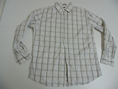 "Paul Smith brown checks shirt 16.5"" / 42 mens - S3775"