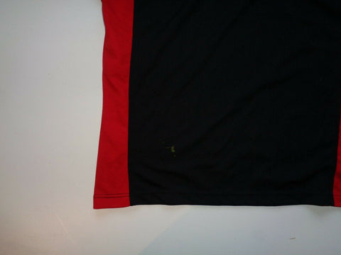 British Army rugby jersey shirt - black with red trim. Large mens-Classic Clothing Crib