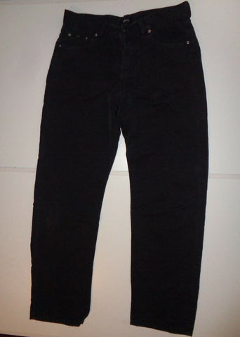 "Hugo Boss faded black trouser jeans Waist 32"" x Leg 32"" mens-Classic Clothing Crib"