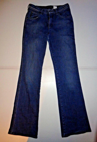 "Armani dark blue denim jeans Waist 28"" x Leg 33"" ladies indigo 007 series-Classic Clothing Crib"