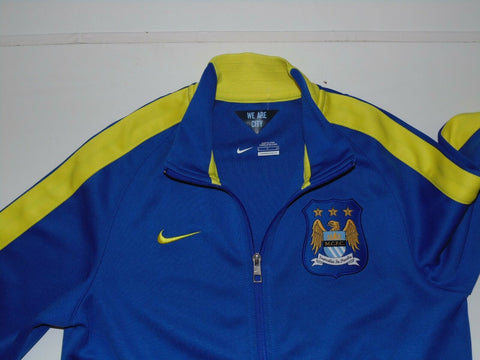 Manchester City Nike blue track jacket - Small mens NEW-Classic Clothing Crib