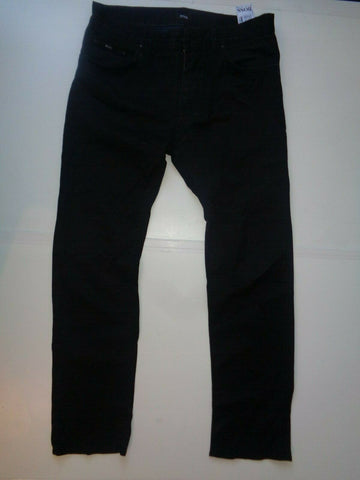 "Hugo Boss black jeans Waist 33"" x Leg 32"" mens Maine1 special finishing-Classic Clothing Crib"