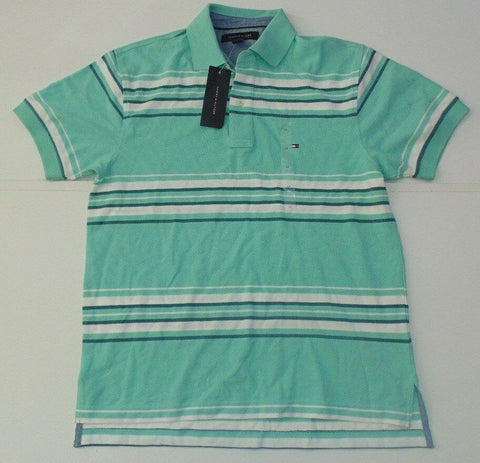 Mens Tommy Hilfiger green polo shirt, small New-Classic Clothing Crib
