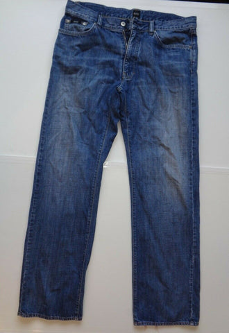 "Hugo Boss Texas blue jeans Waist 36"" x Leg 34"" mens-Classic Clothing Crib"