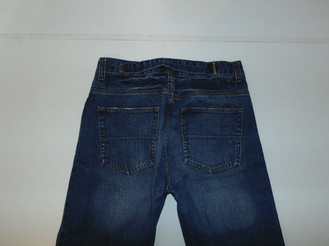 "Superdry dark blue denim jeans Waist 32"" x Leg 32"" mens-Classic Clothing Crib"