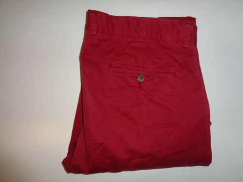 "Ben Sherman EC1 red slim chinos Waist 36"" x Leg 32"" mens-Classic Clothing Crib"