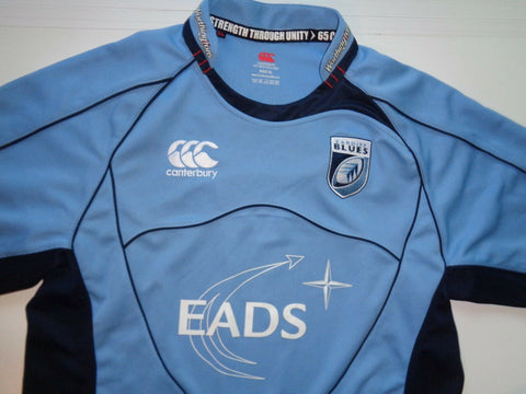 Cardiff Blues 2008-09 rugby jersey shirt - xl mens, NEW-Classic Clothing Crib