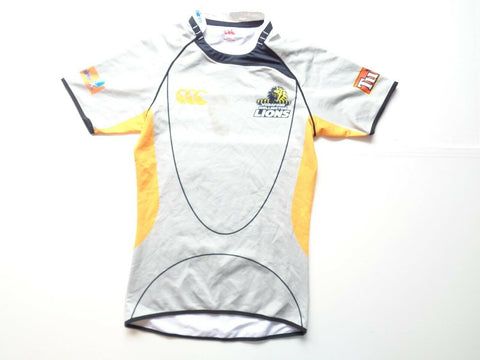 Wellington Lions rugby shirt, large mens player fit jersey New Zealand-Classic Clothing Crib