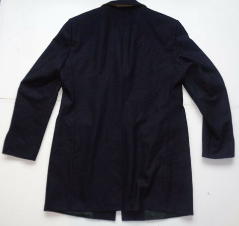 Tommy Hilfiger Tailored black cashmere trench pea coat mens size 56 large-XL fab-Classic Clothing Crib