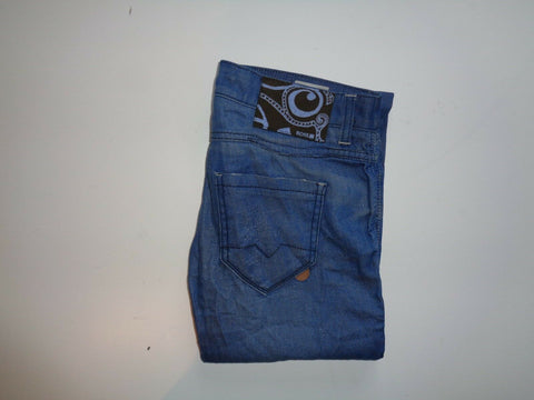 "Hugo Boss Losea dark blue jeans ladies size 10, waist 28"" x Leg 34"" straight-Classic Clothing Crib"