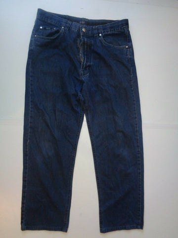"Hugo Boss dark blue jeans Waist 34"" x Leg 29"" mens Alabama 28570-Classic Clothing Crib"