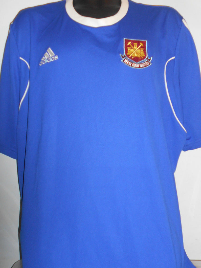new product 43609 4ab6a West Ham United Adidas Training Football Shirt 2xl men's New Without Tags  MA364