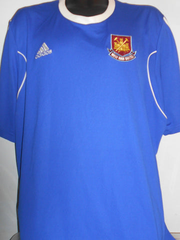 West Ham United Adidas Training Football Shirt 2xl men's New Without Tags MA364-Classic Clothing Crib
