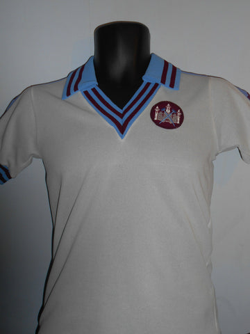 West Ham United Away Football Shirt (1976/1980) large boys MA036-Classic Clothing Crib