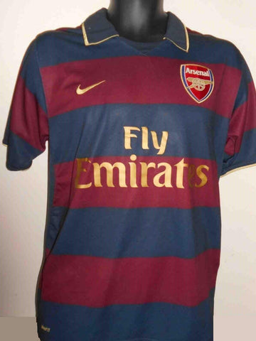 Arsenal 2007/2008 3rd football shirt medium men's MA407-Classic Clothing Crib