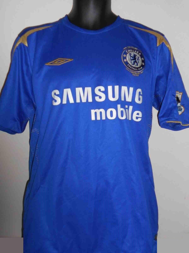 new product d3312 27abb Chelsea 2004-2005 home football shirt Large Mens. LAMPARD 8 MA419