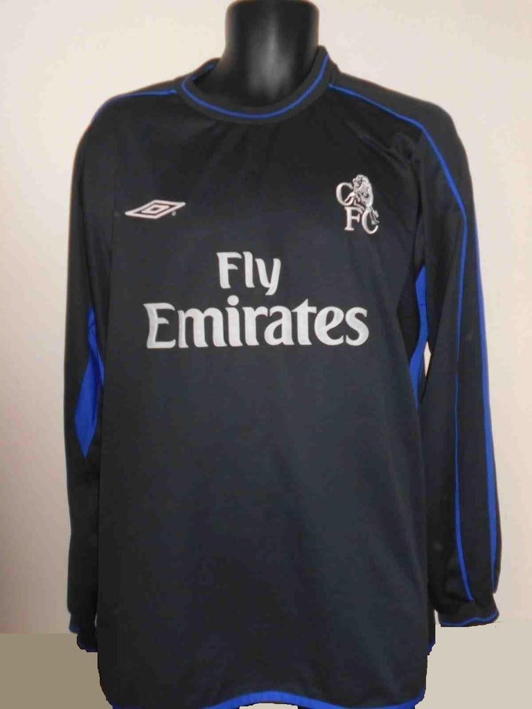 new arrival 08831 c976d Chelsea 2002-2004 long sleeves away football shirt XXL mens MA422