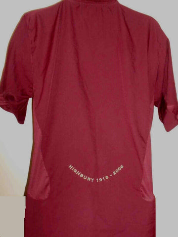 Arsenal 2005-2006 Final Highbury classic home football shirt XL Mens MA437