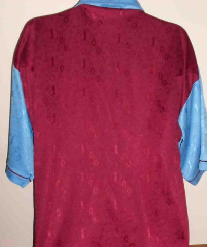 West Ham United Home Centenary Shirt(1995/1997) xl men's MA455-Classic Clothing Crib