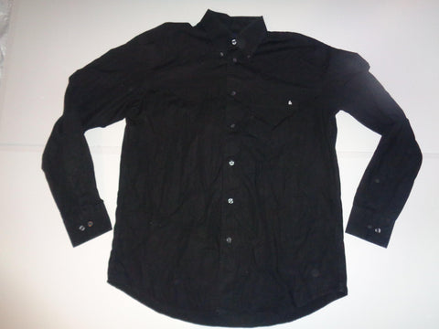 D&G Dolce & Gabbana black shirt - medium - large mens, size IT 48 - S5502