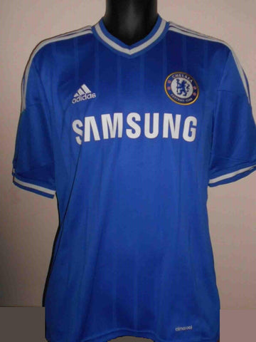 Chelsea 2013-2014 home football shirt Medium Mens. HAZARD 17 MA465-Classic Clothing Crib