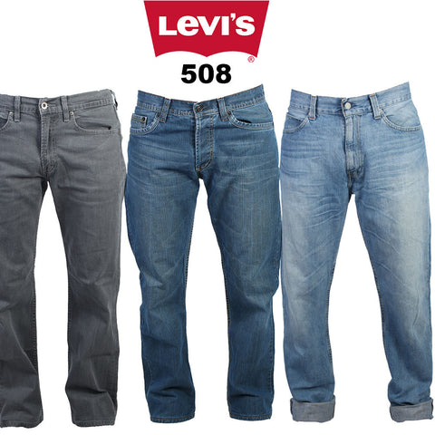 Mens Levi's 508 tapered denim Jeans, Grade A. All sizes