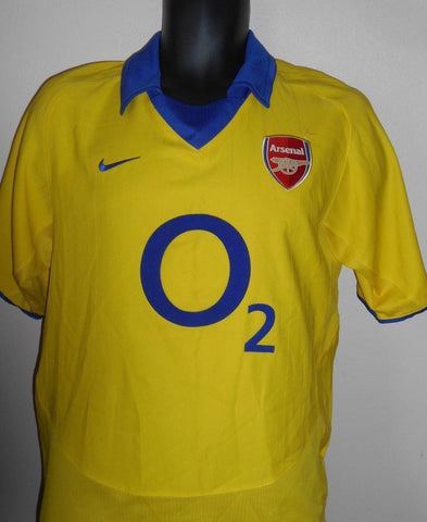 Arsenal 2003-2004 invincibles away football shirt Small Mens. MA557-Classic Clothing Crib
