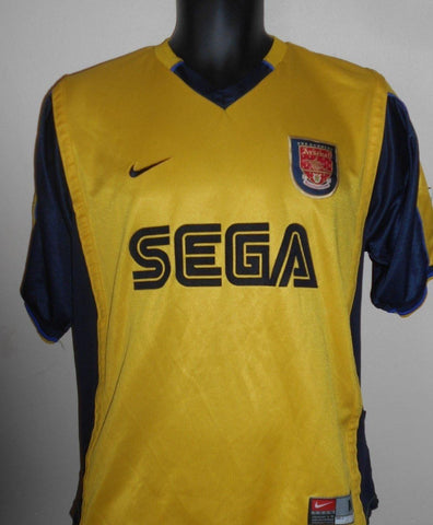 Arsenal 1999-2000 away football shirt Medium Mens MA560-Classic Clothing Crib