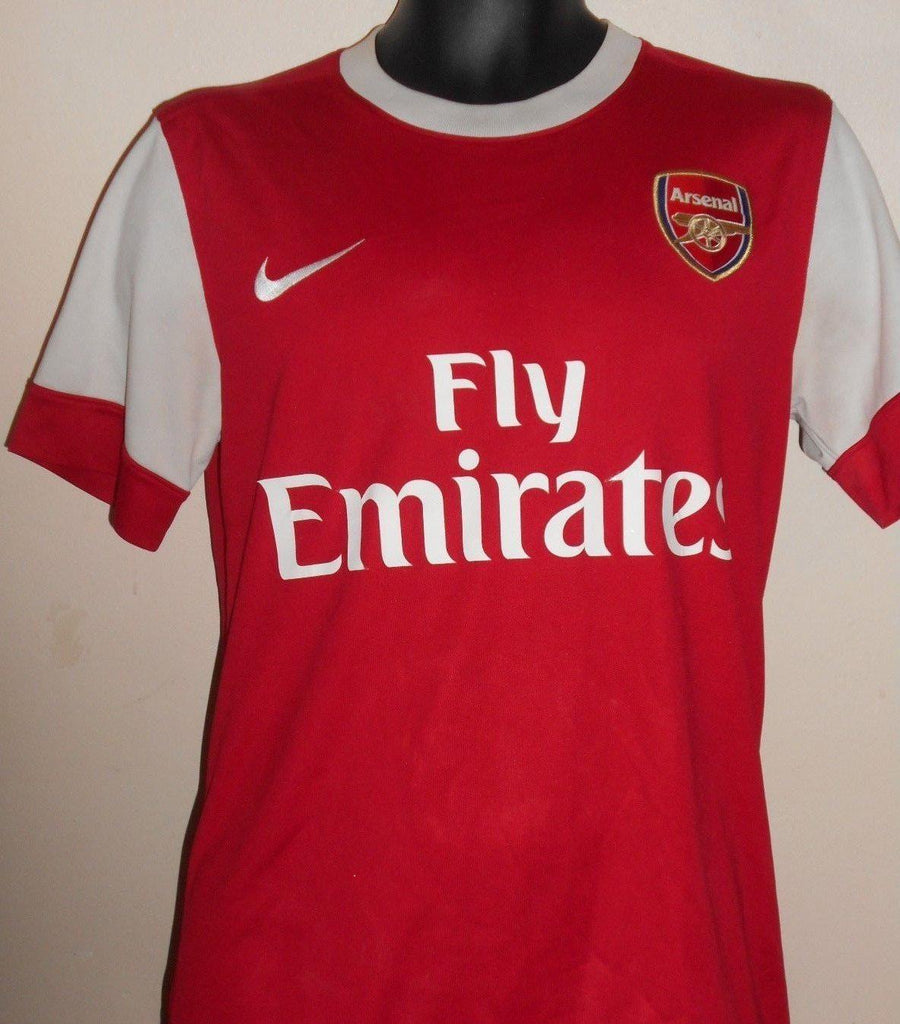 74e145286eee4 Arsenal 2010-2011 home football shirt Small Mens. VERMAELEN 5 MA603 Arsenal  2010-2011 home football shirt Small Mens. VERMAELEN 5 MA603