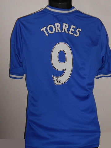 Chelsea 2013-2014 home football shirt Medium Mens. TORRES 9 MA648-Classic Clothing Crib