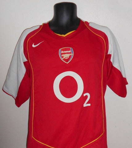 Arsenal 2004-2005 home football shirt Large Mens. MA715