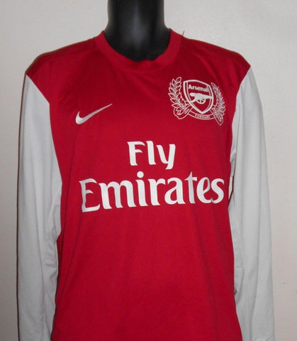 Arsenal 2011-2012 long sleeves home football shirt Large Mens. BNWOT MA718