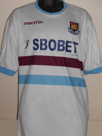West Ham United  Away Football Shirt (2010/2011) 4xl men's  MA744