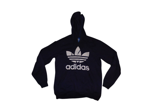 Mens Adidas purple hoodie small Sweatshirt, trefoil, Originals. - DLJ106-Classic Clothing Crib