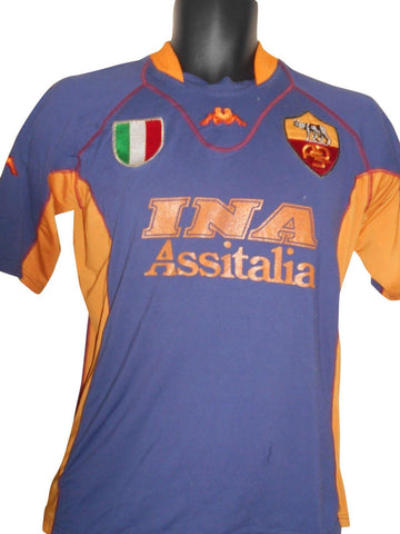 AS Roma 2001-02 3rd shirt Medium Mens #S573.
