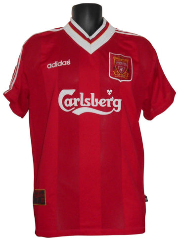 Liverpool Adidas vintage Home Shirt 1995-96 large mens #S627-Classic Clothing Crib