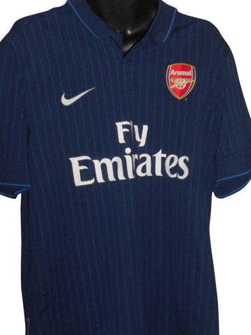 Arsenal 2009-10 away shirt xl mens FABREGAS 4 #S803-Classic Clothing Crib