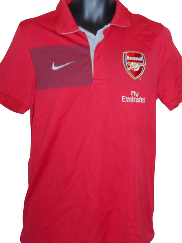 Arsenal training polo shirt small mens #S802