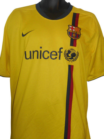 Barcelona 2008-09 away shirt XXL Mens #S158.