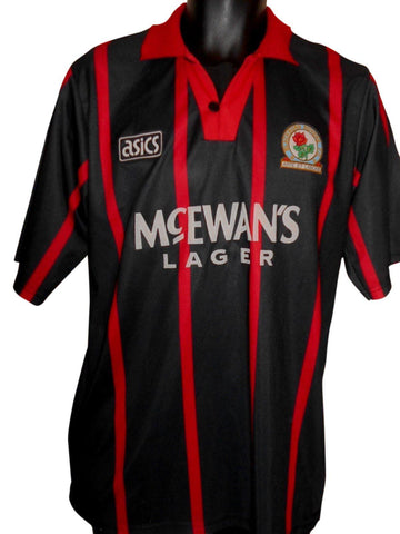Blackburn Rovers 1994-95 away shirt medium mens #S841.