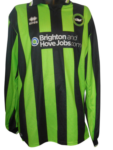 Brighton & Hove Albion 2011-13 Away shirt XXXXXL mens size 5XL  #S151.