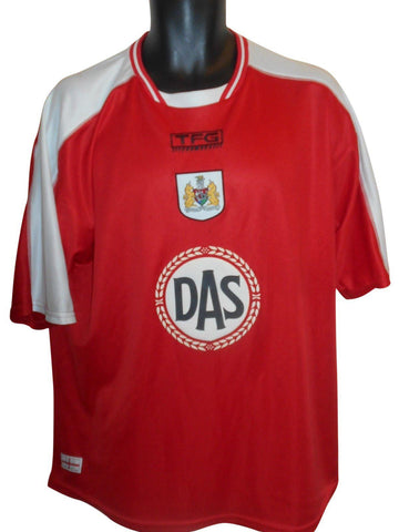 Bristol City 2003-04 home shirt Large mens #S789.
